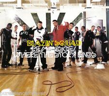 BLAZIN' SQUAD - Reminisce/Where The Story Ends (UK 4 Tk Enh CDS Pt 2/Poster)