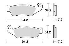 Plaquette Frein SUZUKI DR-Z 400 E S SM/SUZUKI DR 125 350 650 SM SE
