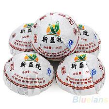 Compact Xin Yi Hao Menghai Tuo Cha Puer Tea 100g Ripe B84U