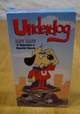 Underdog Vs. Riff Raff VHS VIDEO