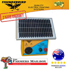 Thunderbird Solar Electric Fence Energiser S28B 2.5 km Self Contained Unit
