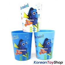 Disney Finding DORY Nemo Plastic 3 pcs Cups Set Mini Picnic Toothbrush Cup Korea