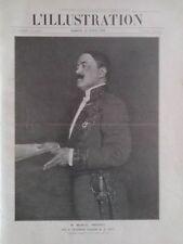L' ILLUSTRATION 1910 N 3504 M. MARCEL PREVOST, RECU A L' ACADEMIE FRANCAISE;