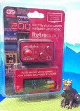 RetroPlay 200 Built-in Games - Retro Console / brand new ST#A19