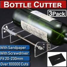 20-230mm Wine Beer DIY Glass Bottle Cutter Machine Jar Cutting Tool Craft Sets
