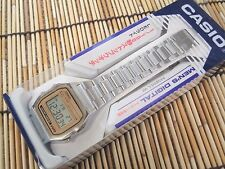 New! Casio Digital Mens Watch A158WEA-9JF Silver & Gold from Japan Import!
