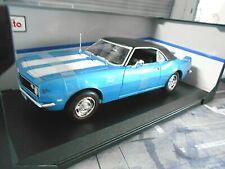 CHEVROLET Camaro Z-28 Z 28 Z/28 Coupe blau 1968 V8 Muscle Car US Maisto 1:18