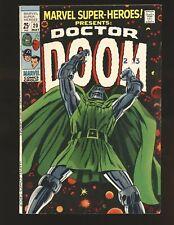 Marvel Super-Heroes # 20 - Doctor Doom VG/Fine Cond.