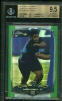 2014 Topps Chrome Aaron Donald Green Refractor #175 Rookie RC BGS 9.5