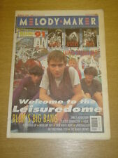 MELODY MAKER 1991 AUG 24 BLUR JAMES SONICS HOLE