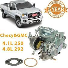 1-Barrel Carburetor For Chevy Chevrolet GMC L6 6 CYL Engine 4.1L 250 4.8L 292 US