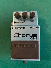 Boss Ce-3 Chorus Guitar Effect Pedal