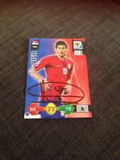 Nikola Zigic Serbia Signed World Cup Trading Card