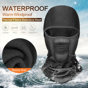 Cold Weather Windproof Thermal Neck Warm Balaclava Waterproof Face Cover Reliabl