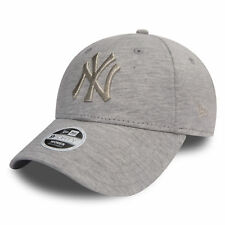 New Era Womens Essential Jersey 9Forty New York Yankees Cap Grey OSFA