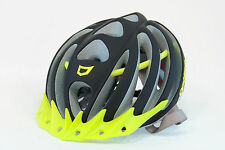 Catlike Vacuum Matte Black/Fluorescent Yellow Cycling Road Bike Helmet, Small