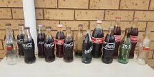 16x Coca Cola bottle collection