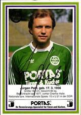 AK 4299 Jürgen Pahl, Eintracht Frankfurt, HFC Chemie, Junioren-Nationalspieler