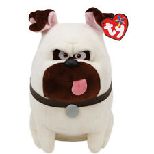 "TY Beanie Baby Plush Stuffed Animal 10"" MEL the Pug Dog (Secret Life of Pets)"