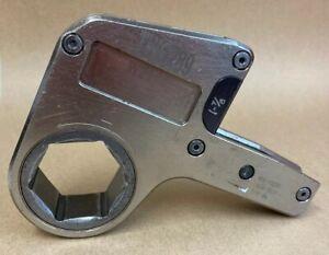 """ENERPAC W2000 Hydraulic Torque Wrench Link 1-7/8"""" 48mm A/F W2114  #20311"""