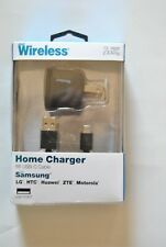 Just Wireless Home Charger USB Type-C 2.4 Amp (6ft USB-C Cable)