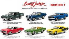 BARRETT JACKSON SCOTTSDALE EDITION SERIES 1, SET OF 6 CARS 1/64 GREENLIGHT 27830