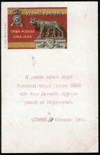 1900 - 79 Reggimento Fanteria - Il primo saluto della classe 1884 appena giunti