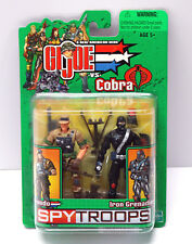 2003 Recondo & Iron Grenadier - Mint on Card - Spy Troops