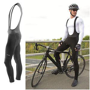 Mens Cycling Bib Tights Thermal Long Leggings MTB Road Winter Bike Trouser