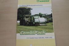 157354) Krone Wickelkombination Combi Pack 1250 1500 MC V Prospekt 200?