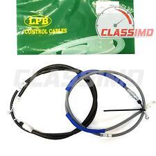 Rear Handbrake Cables x2 for NISSAN PRIMASTAR RENAULT TRAFIC VAUXHALL VIVARO X83