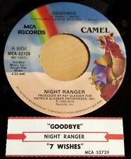 Night Ranger 45 Goodbye / Seven Wishes  w/ts