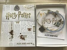 Harry Potter Alex & Ani Expecto Patronum Bracelet Expandable Bangles NEW Jewelry