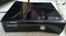 Microsoft Xbox 360 S Model 1439 250GB Piano Black Slim Console Only Working