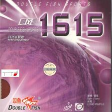 Double Fish Pips Long Rubber 1615 1.0mm
