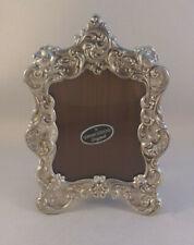 """Gorham Roses & Scrolls Sterling Frame- 3 1/2"""" x 5"""""""