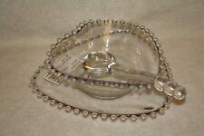 Candlewick Crystal 400/496 3 Piece Mayonnaise Set