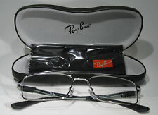 New RAY-BAN 6275 c. 2502 Steel & Gray Masculine Glasses Frames Size Large + Case