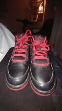 Boys Yth Sz 3.5 Black/Red JORDAN FLIGHT ORIGIN 2 BG ATHLETIC SHOES EUC 70516-016
