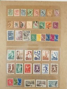 FINLAND - pre-1960 - Nice little lot of 70+ stamps, VF.