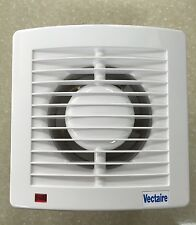 Vectaire AS10HT Humidstat Timer Bathroom Toilet Ceiling Extractor Fan White