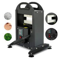 "7 Ton Rosin Press Machine Dual Heat Plates 2.4""×5.9"" Manual Rosin Press 110V"