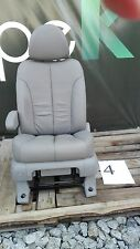 Sitz Fahrersitz Kia Carnival III Leder grau