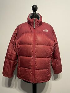 The North Face 600 Goose Down Insulated Parka / Coat (Girls / Size: Large)