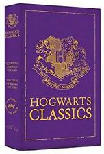HARRY POTTER ~ HOGWARTS CLASSICS ~ 2 HC BOOKS in SLIPCASE Quidditch BEEDLE BARD