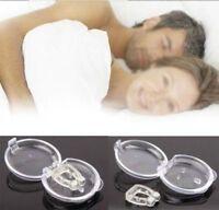 Schnarchstopper Silikon mit /ohne Magnet effektive Anti Schnarchen Slumber Snore