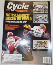 Cycle Magazine BMW R100RS & Suzuki VS750 July 1988 011315R2