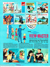 PUBLICITE ADVERTISING 056  1965  View-Master  jeux jouets Sawyers