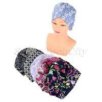 Colorful Printed Unisex Surgical Caps for Doctors Nurses Cotton Medical Cap Hat