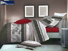 REBO King Size Bed Duvet/Doona/Quilt Cover Set Brand New